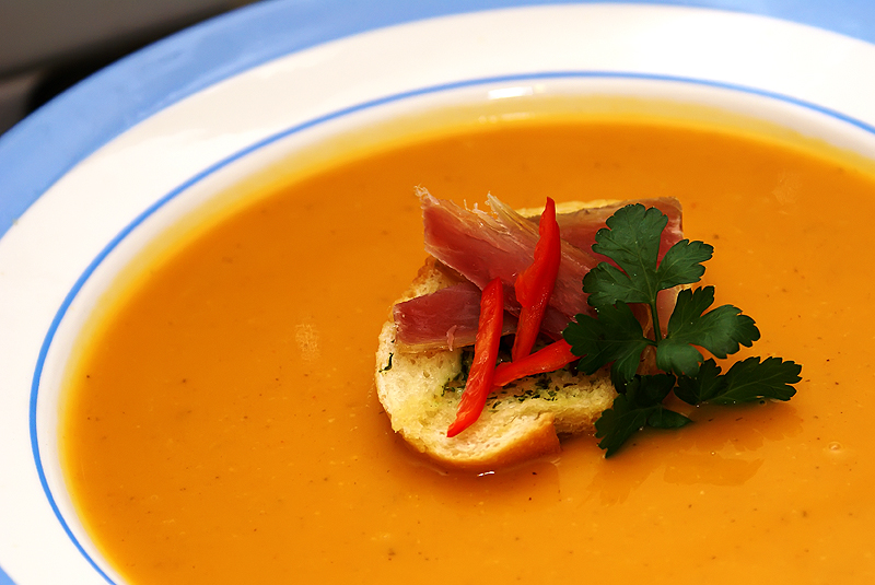 supa crema de dovleac reteta culinara