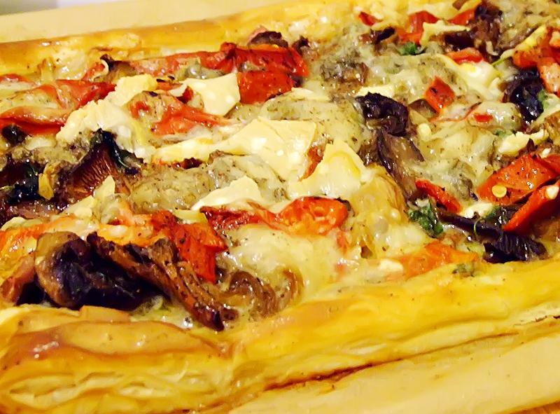pizza pe foietaj reteta culinara