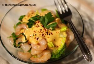 salata cu creveti reteta culinara