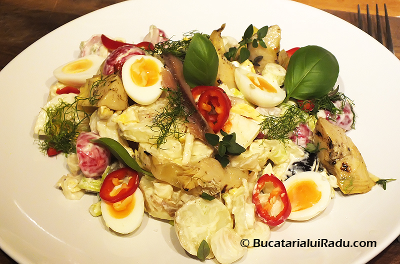 salata cartofi reteta culinara