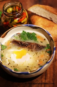 ciorba de oua reteta culinara