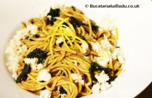 spaghete creveti