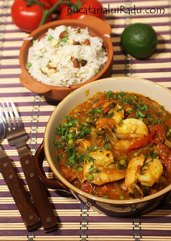 curry cu rosii