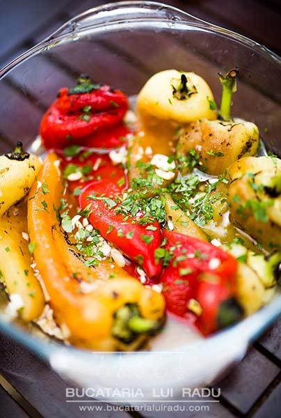 salata de ardei copti