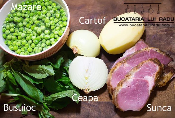 supa de mazare ingrediente