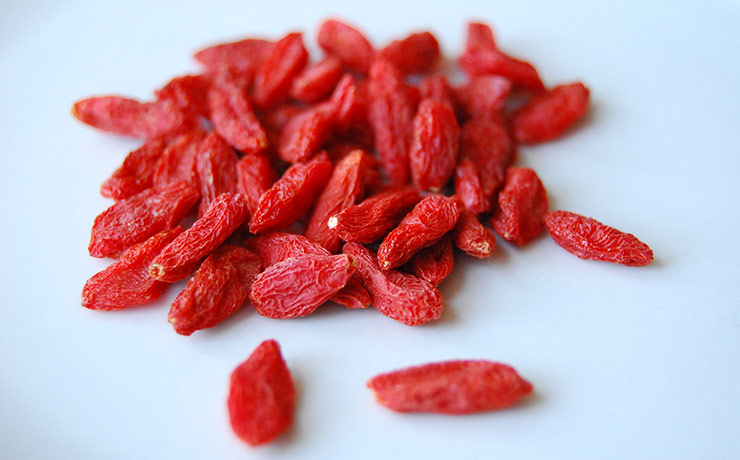 superalimente. fructele goji
