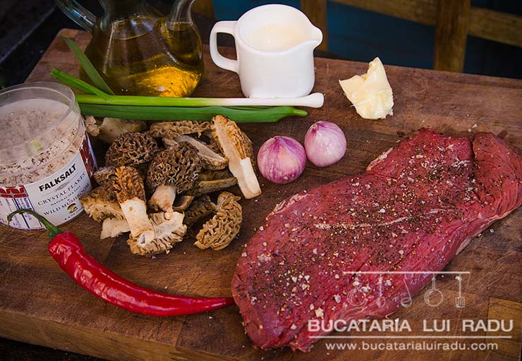 zbarciogi cu sos de smantana ingrediente carne de vita