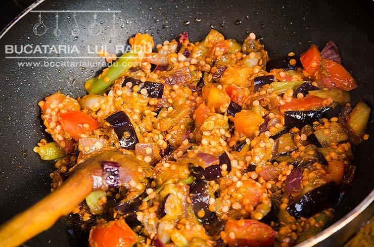 curry de vinete preparare