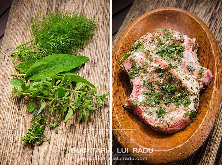 cotlete de porc marinate