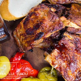reteta coaste de porc la cuptor