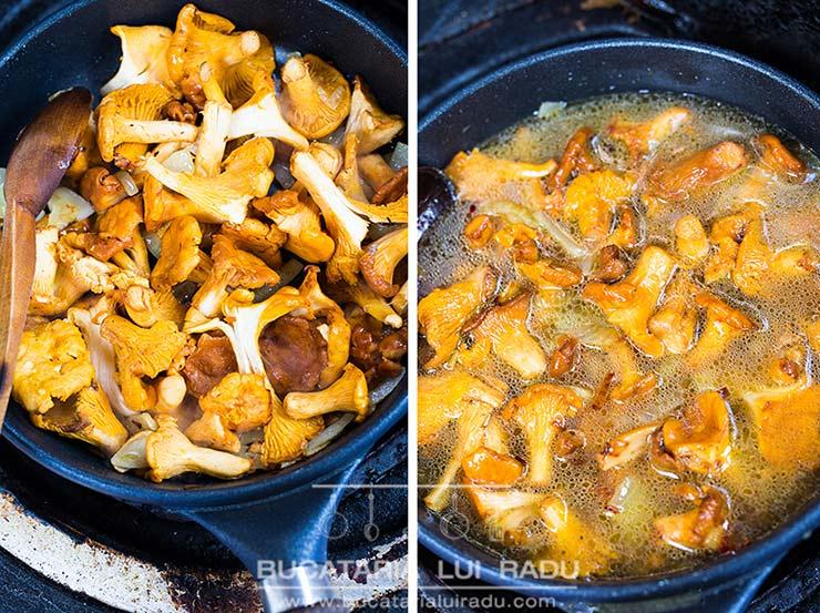 supa crema de ciuperci ingrediente