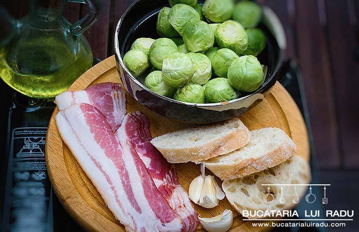 ingrediente varza de Bruxelles
