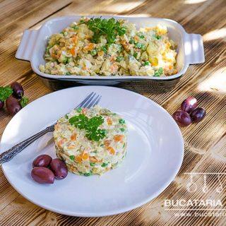 Reteta de salata de boeuf