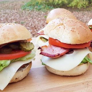 Hamburger de vita Angus