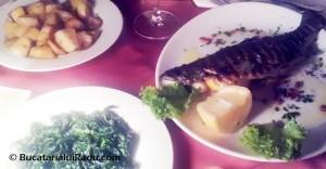 Restaurant Sabres pastrav la grill