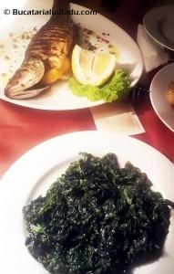 Restaurant Sabres mancare biban
