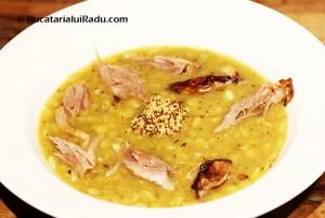 supa suedeza de mazare reteta culinara