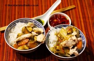 reteta culinara pui chinezesc