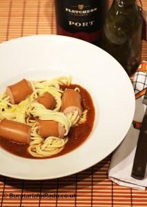 spaghete cu cremvusti