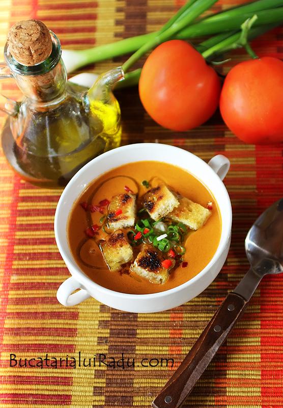 gazpacho supa de legume