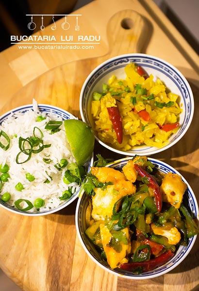 curry de peste tailandez
