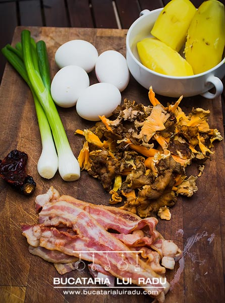 tortilla spaniola ingrediente