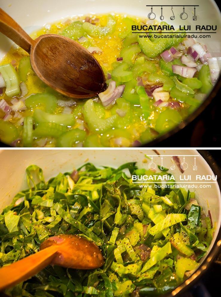 paste cu spanac preparare