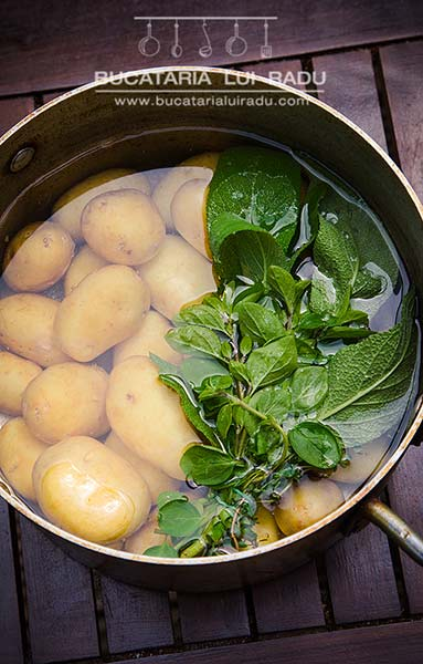 salata de cartofi noi ingrediente