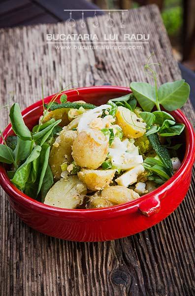 preparare salata de cartofi noi