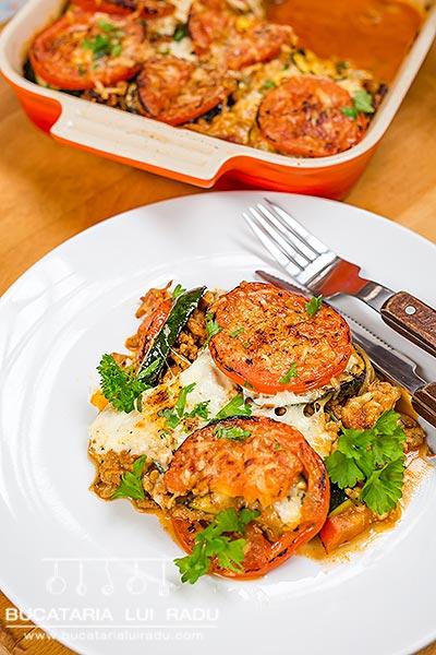 Lasagna fara paste reteta culinara